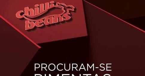 54421b056 Carlinhos Filho: Chilli Beans de Presidente Dutra está contratando -  Atenção, hoje é o último dia para você enviar seu currículo!