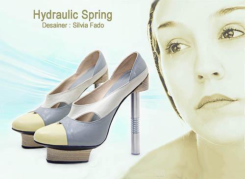 Model sepatu wanita dengan desain yang cantik dan unik