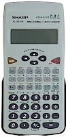 Calculatrice scientifique SHARP EL-531VH - 183 Fonctions