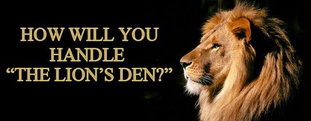 Living in the Lion's Den: October 5: Matthew 4, Luke 4-5