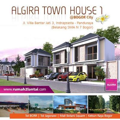 Algira Townhouse 1 Kota Bogor