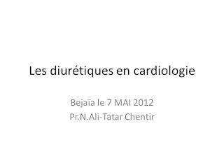Les diurétiques en cardiologie .pdf