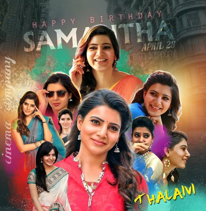 Samantha Akkineni Birthday Special Photos-HQ Edited Images