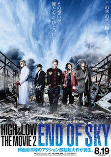 Sinopsis, Pemain, Trailer  High & Low The Movie 2 End of Sky (2017)