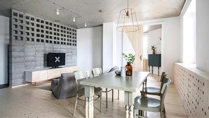 Mini appartamento per due stile e design low cost blog for Progetto appartamento moderno