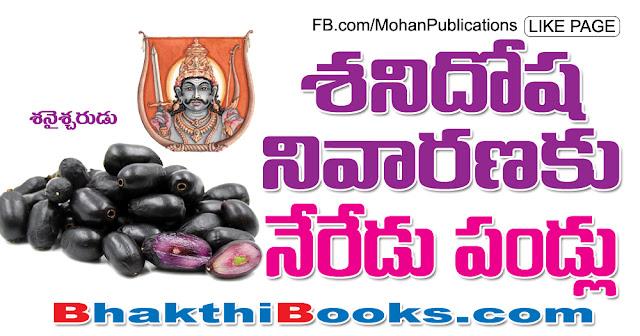 శని దోష నివారణకు నేరేడు పండ్లు | Shani Dosha | Mohanpublications | Granthanidhi | Bhakthipustakalu Lord Shani Lord Sani Shani Shingnapur Shanideva Lord Surya Son Yamagraj Shanidosham shanidosha nivarana