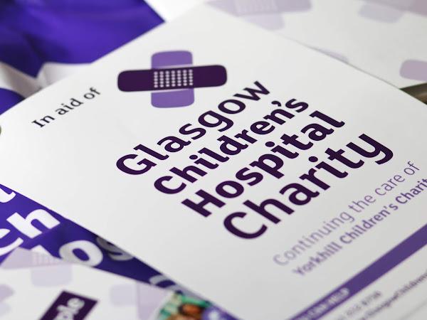 #plasteritpurple For Glasgow Children's Hospital Charity