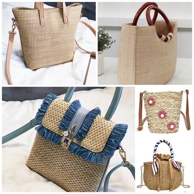 Zaful 4th Anniversary. My summer wishlist - Straw Bags