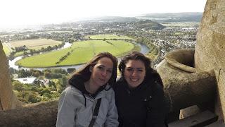 A Forth folyó a háttérben Stirling-ben