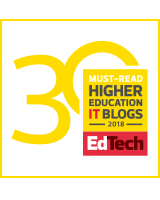 ESU Information Technology: Blog Recognized!