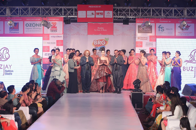 Buzjay fashion in jaipur couture show