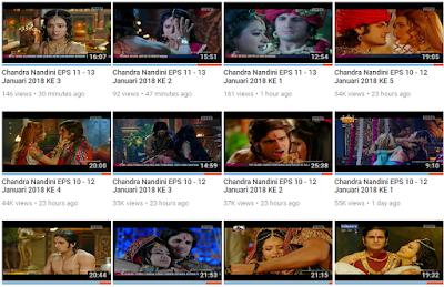 Film ChandraNandini hari ini Full Vidio dan Update setiap hari