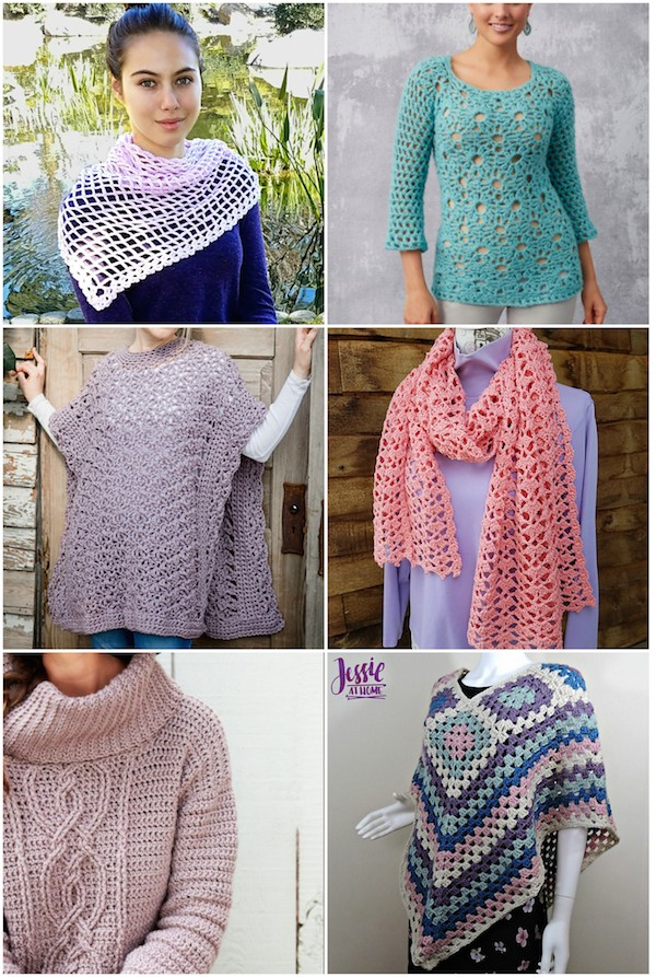 Cgoa Now 16 Mostly Free Crochet Patterns In Pretty Pastels