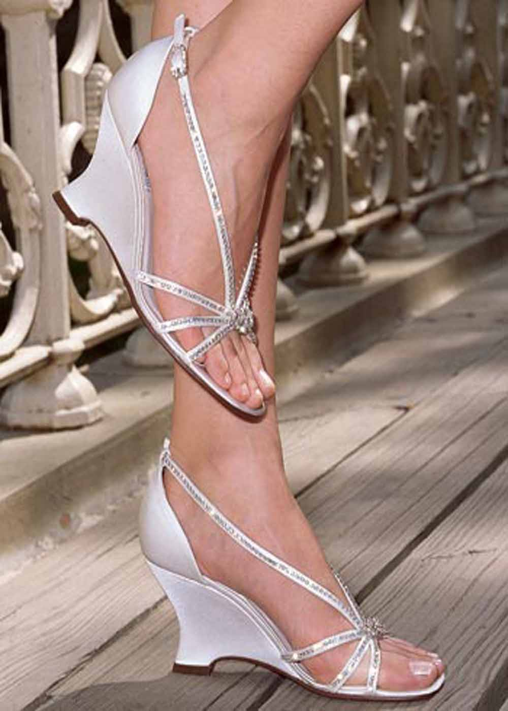 Elegant Wedding Shoes Wedges - wedding & Planning Married