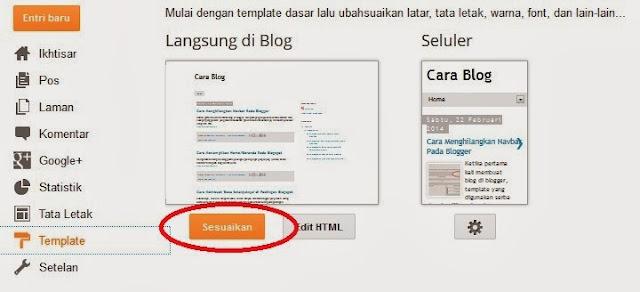 Cara Menghilangkan Navbar dan Elemennya Pada Blogger