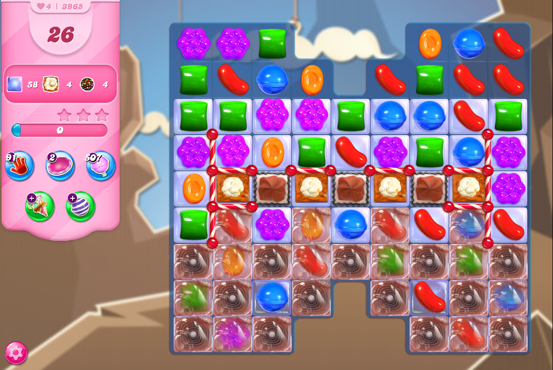 Candy Crush Saga level 3965