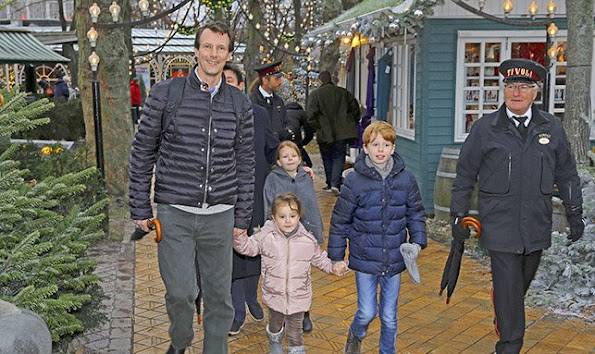 Prince Joachim of Denmark, Princess Marie, Prince Henrik and Princess Athena