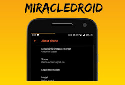 Custom Rom MiracleDROID Unofficial Oreo Redmi 5A Riva