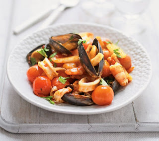 spanish style seafood recipe