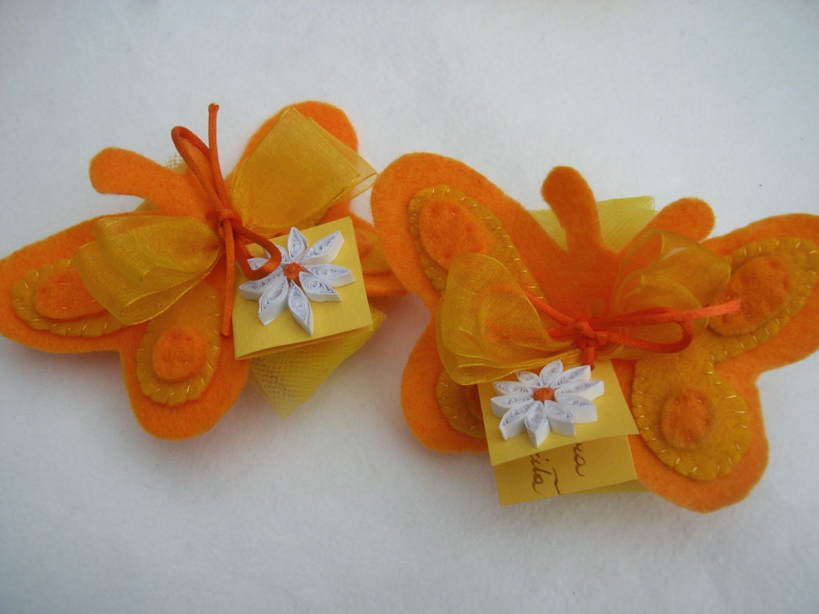 Farfalle Fai Da Te gla crea: tutorial: farfalle e confetti: una bomboniera fai
