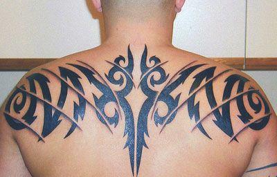 Back Tribal Aires Sign For Men