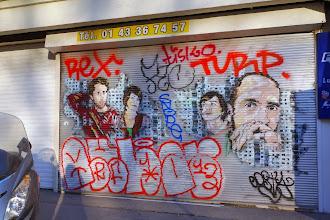 Sunday Street Art : Jana und JS - rue Croulebarbe - Paris 13