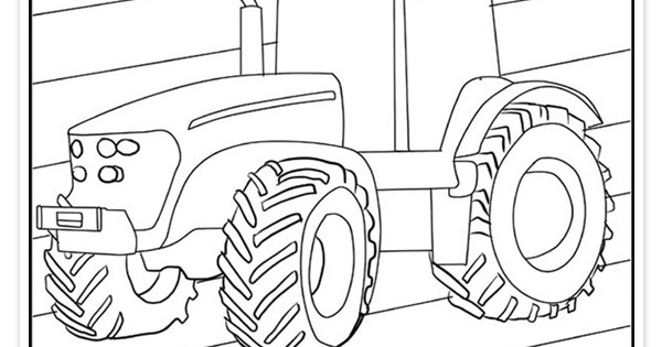 traktor ausmalbilder  malvorlage traktor  kostenlose