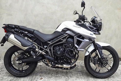 mesin suspensi Triumph Tiger 800 XR