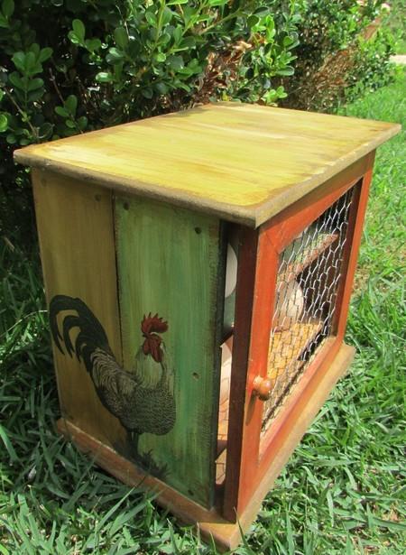 artesanato-porta-ovos-decoração-rustica