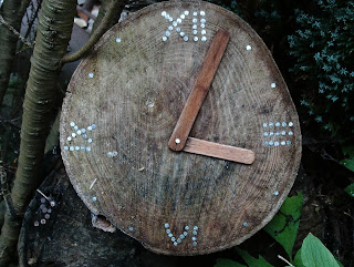 Fairy garden clock, a simple DIY project, Green Fingered Blog