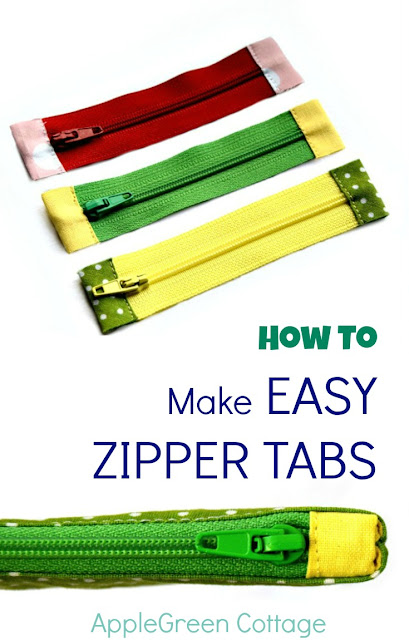 zipper tabs to shorten zippers