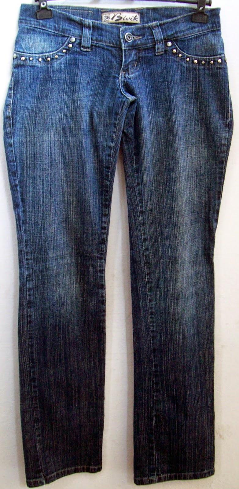 calça jeans Bivik tamanho 36