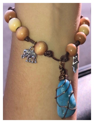 Bracelet with Crystal or Stone