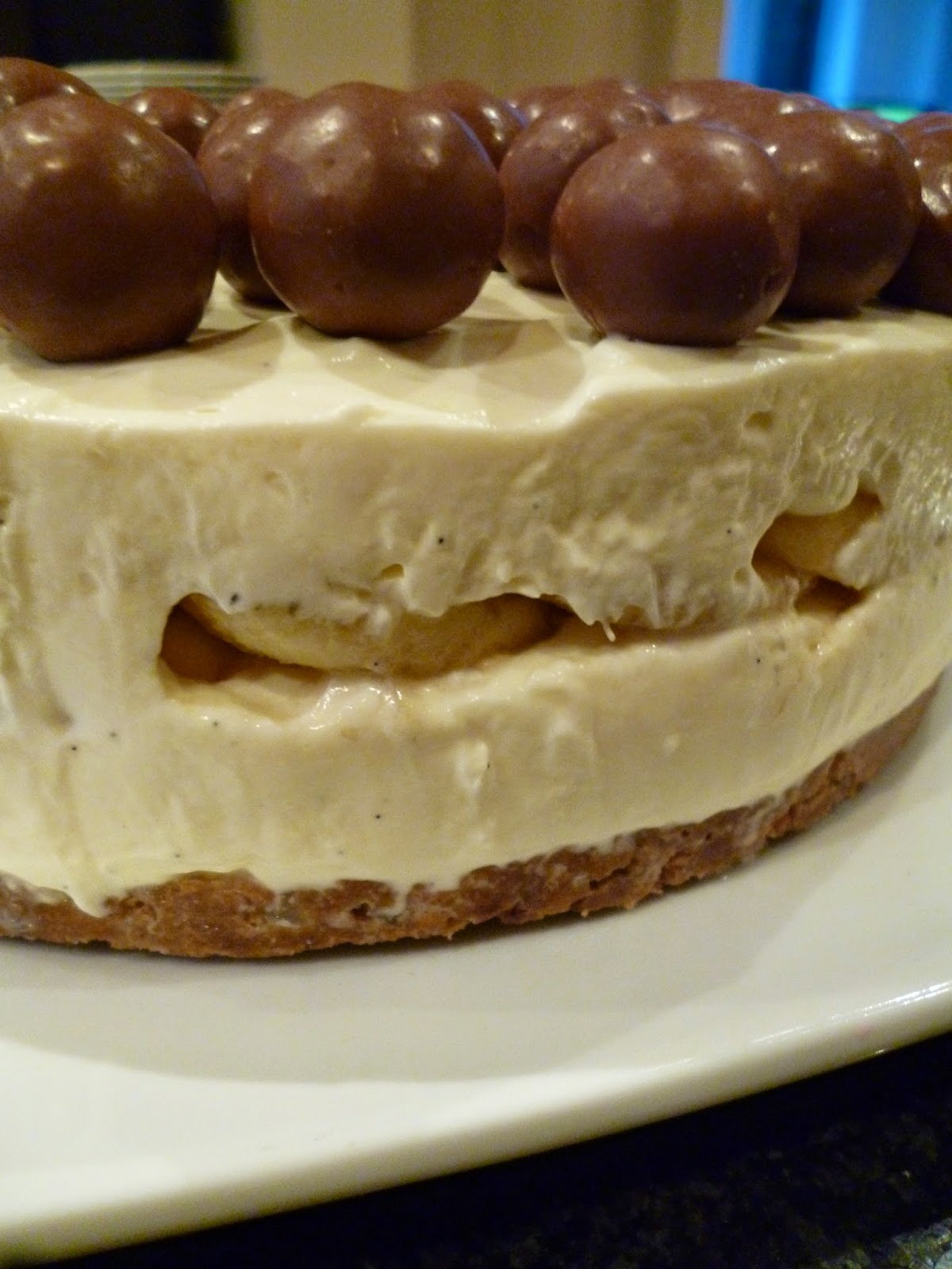 Chocolate and Banana Cheesecake Recipe - aka Fancy Pants