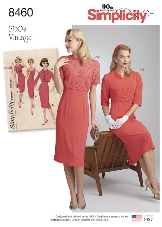 Lilacs & Lace: Simplicity has gone vintage reproduction crazy.