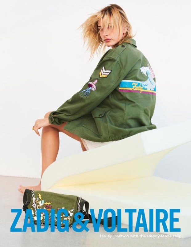 Zadig & Voltaire's Spring 2018 Campaign