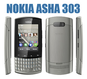harga nokia asha 303 touchscreen terbaru, spesifikasi lengkap hp asha qwerty, review gambar dan kelebihan kelemahan asha 303