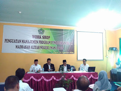 workshop penguatan program pendis