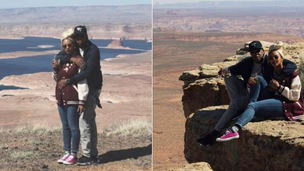 Beyonce Shares Flashback Pics of Her and Jay Z's Wedding Anniversary at the Grand Canyon