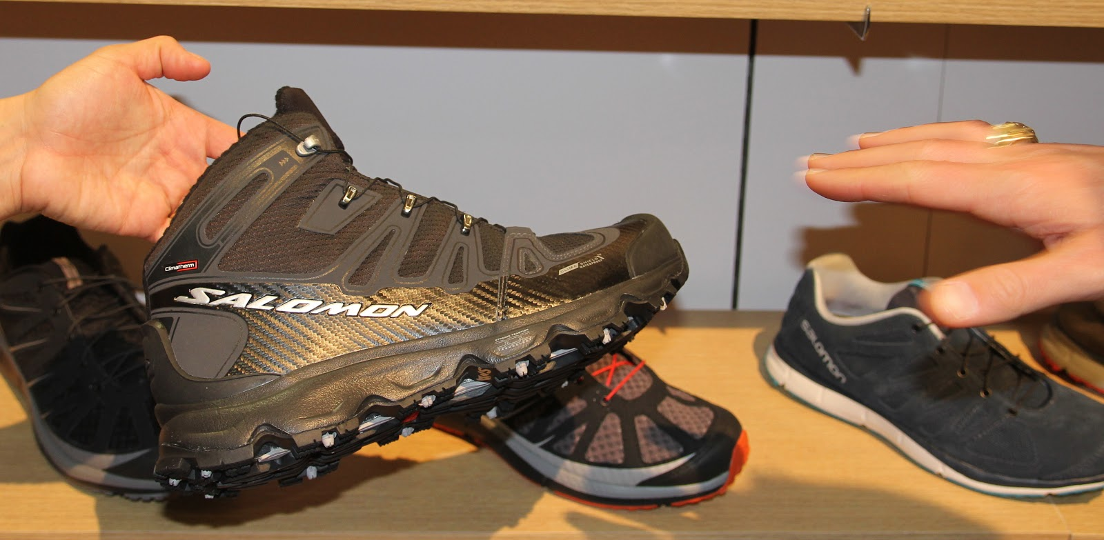 Salomon Footwear FallWinter 20132014 HikingTrail Running