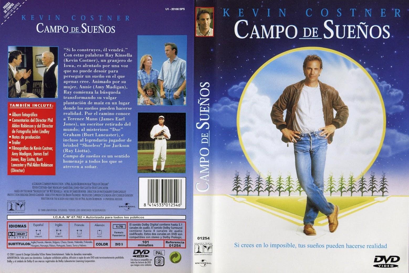Campo de sueños ( 1989 ) DescargaCineClasico.Net