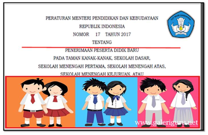 Download Pedoman Pelaksanaan PPDB Jenjang Sekolah SMP SMA dan SMK Jaran Tahun 2017/2018