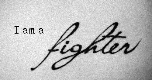 I am a fighter of Xtina