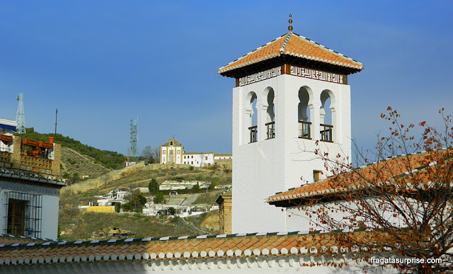 Granada, Andaluzia: Mesquita Maior, no bairro mouro do Albaicín