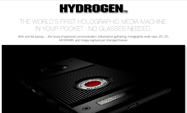RED Hydrogen One smartphone with a 'holographic display'
