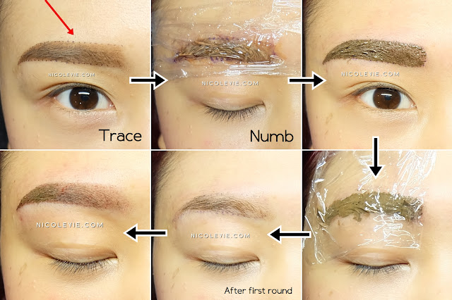 Permanent Makeup Mist Eyebrow By E Image Aesthetic Nicole Yie