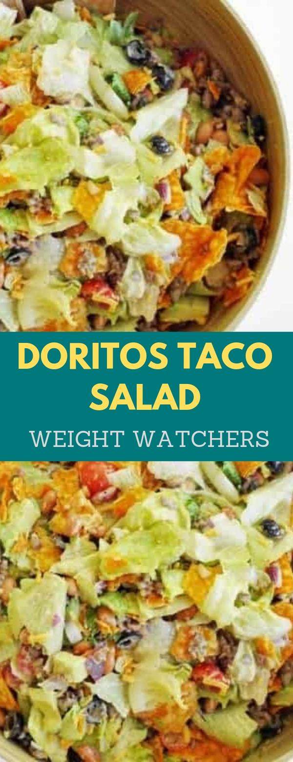 Doritos taco salad weight watchers