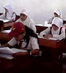 Ujian Tulis Seleksi Masuk SMP 1 Benteng Selayar, Diikuti Ratusan Peserta