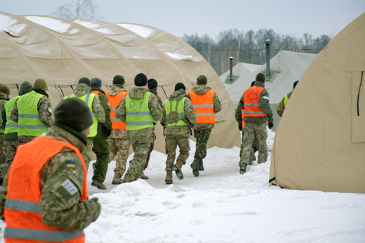 польовий табір навчального центру ССпО