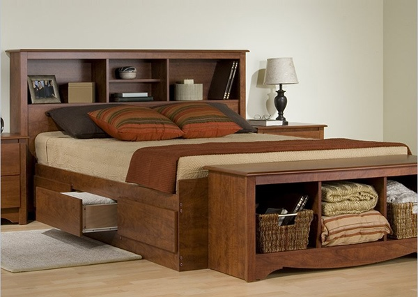 Desain Tempat Tidur dengan Laci Unik dan Fungsional  Rancangan Desain Rumah Minimalis